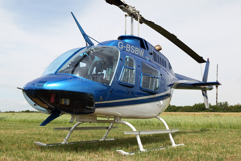 G-BSBW | Bell 206B Jetranger III | Castle Air Ltd