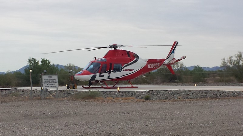 Care Flight 8 - Quartzsite 2000  Agusta A119 #N303CF