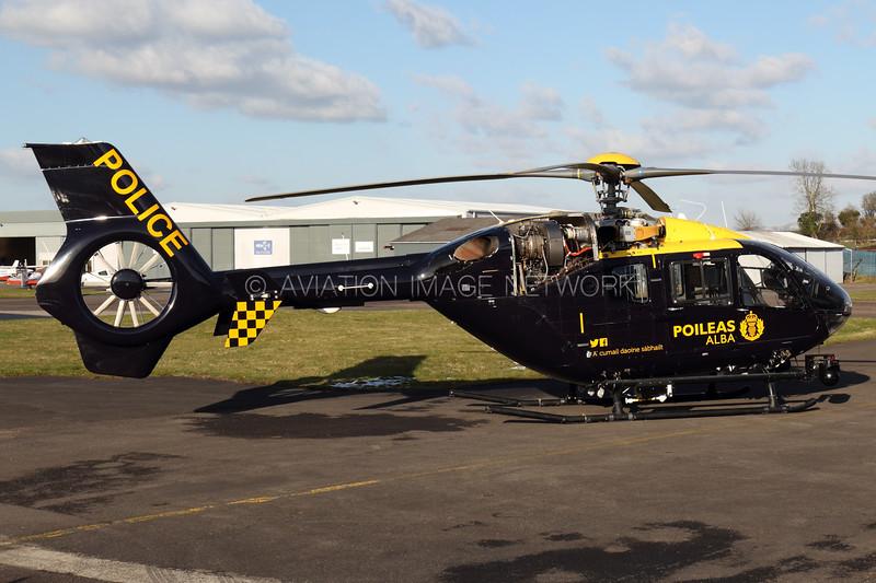 G-PSHU | Eurcopter EC135 T2+ | Police Scotland (Babcock Mission Critical Services Onshore Ltd)