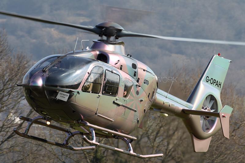 G-OPAH   Eurocopter EC135 T2+   VLL Ltd