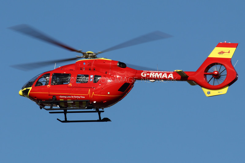 G-RMAA | Airbus Helicopters EC145 T2 | Babcock Mission Critical Services Onshore Ltd (Midlands Air Ambulance)