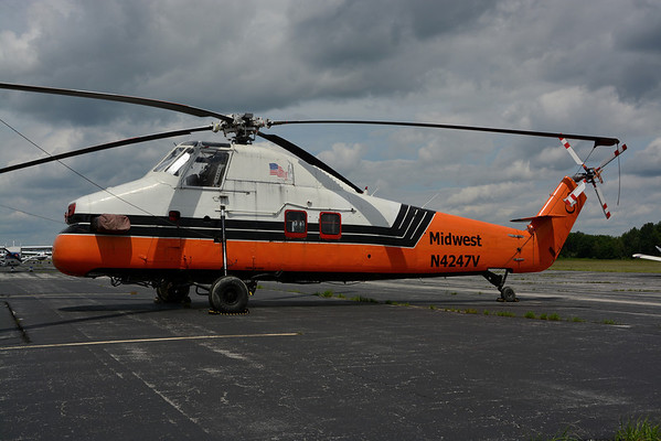 N4247V - Sikorsky S-58JT