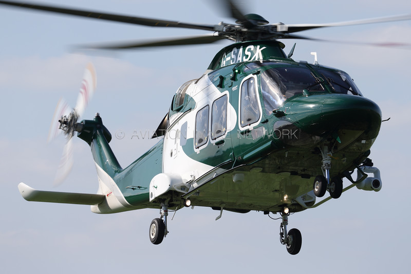 G-SASX | Leonardo AW169 | Specialist Aviation Services Ltd