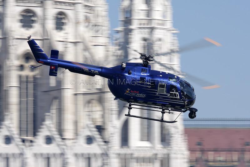 HB-ZHS | MBB BO-105cbs-4 | Red Bull