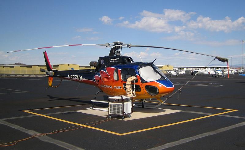 Native Air N-5 Eurocopter AS350B3 1998 #N827NA