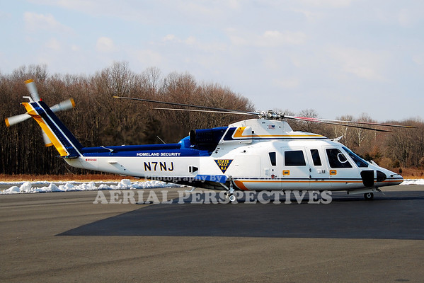 N7NJ - 1988 Sikorsky S-76B N.J. State Police/Homeland Security
