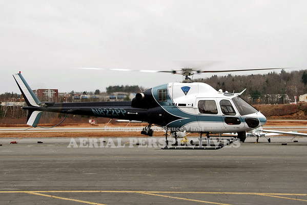 N822PP - 1998 EUROCOPTER/FRANCE AS355N TWINSTAR  MASSACHUSETTS STATE POLICE
