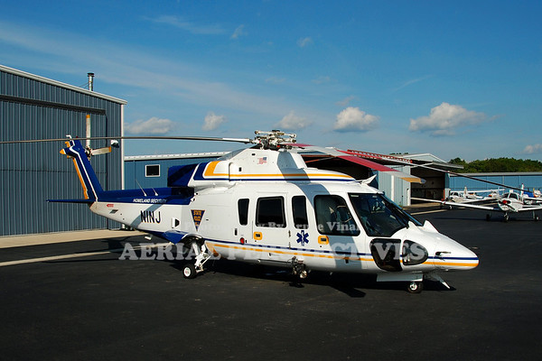 N1NJ - 1986 Sikorsky S-76B N.J. State Police/Homeland Security