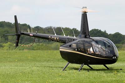 G-CIKX   Robinson R-66   SMT Aviation Ltd