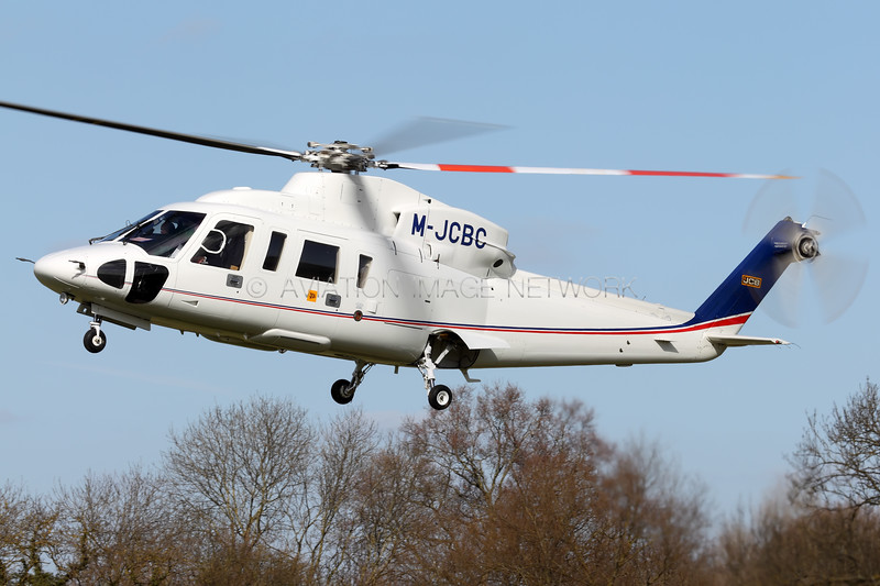M-JCBC | Sikorsky S-76C | JCB Excavators