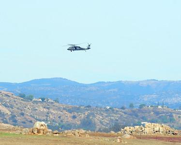 Over Ramona, CA. 10/26/2013