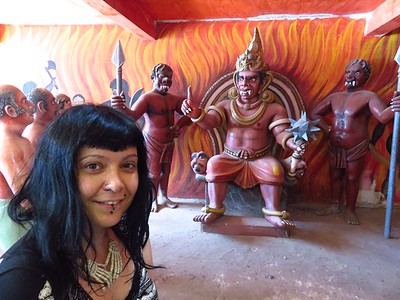 Sri Lanka Wewurukannala Vihara Temple and the Tunnel of Hell