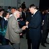 predsednik republike Slovenije dr. Danilo Türk v pogovoru s 94 letnim ing. Lovrom Verčkom, starosto Saturnusa, ki je v več kot štirih desetletjih v Saturnusu opravljal več vodilnih funkcij.