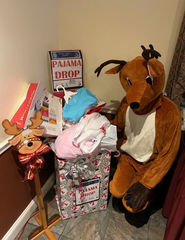 . Pajama drop-off for Boston Children�s Hospital