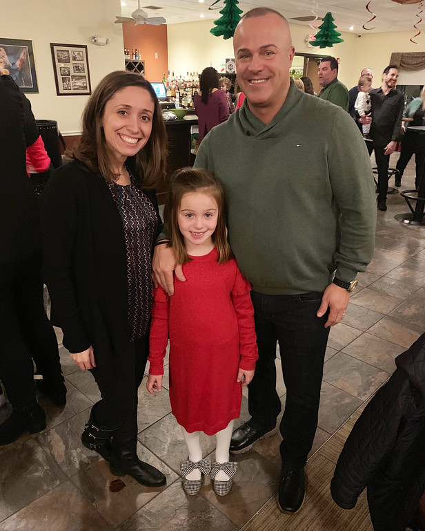 . Nancy and Johnny Mattheos of Lowell and their adorable daughter Gabriela