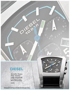 Concept Photography and Design -  Copyright Diesel, SpA
