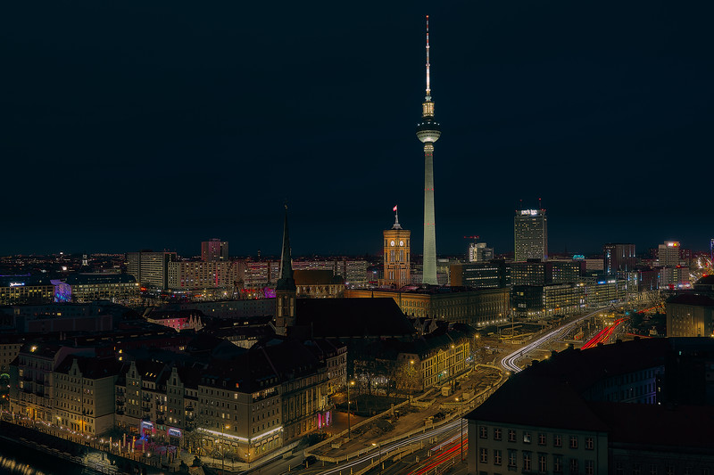 Bird's Eye View of Berlin.