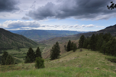 View of Hells Canyon from Pittsburgh Saddle, ID