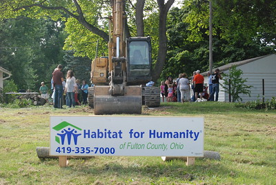 Ground Breaking - 2016 Helmke Project