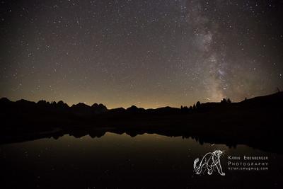 Milky Way and Salfeins Lake