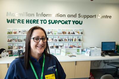 Sheree Hall, Macmillan Lead Cancer Nurse at the National Garden Scheme Macmillan Centre in Chesterfield