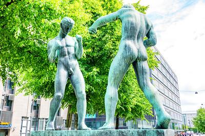Public art and pubic art