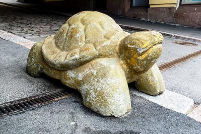 Helsinki public art tortoise