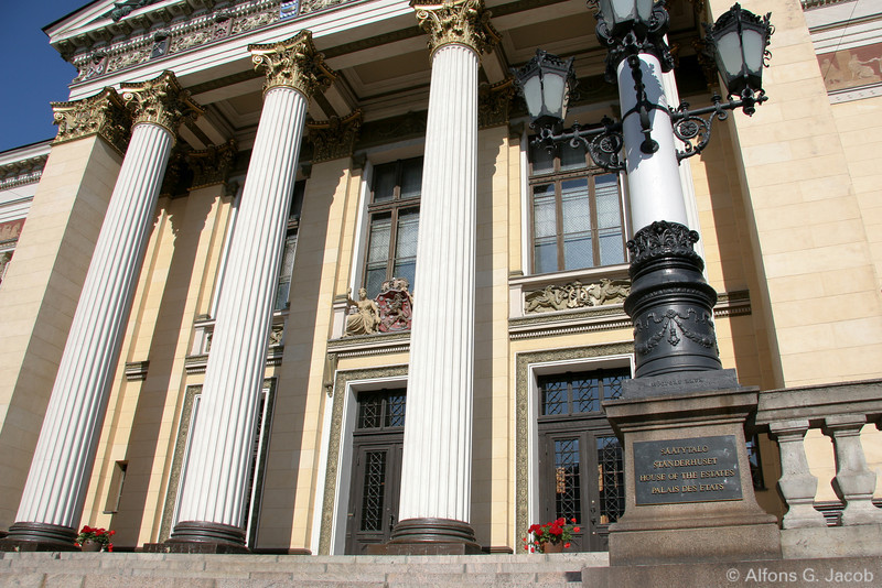 House of the Estates, Governmental Building, Helsinki, Finland