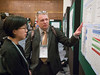 Attendees during the Poster session