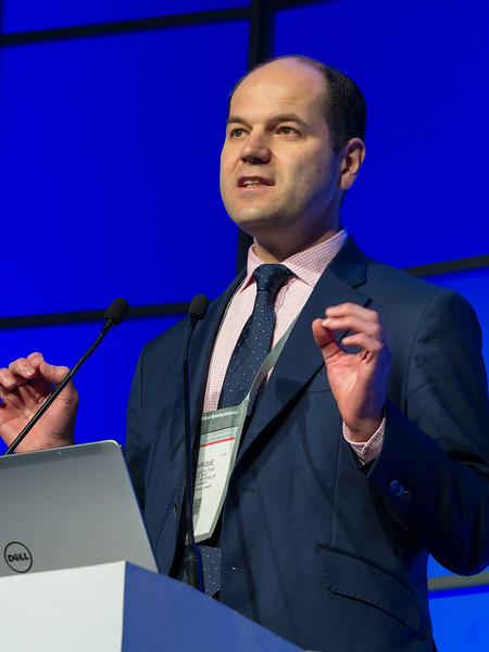 Enrique Ocio, MD speaks during the Precision Medicine: Genomics and Disease Monitoring session