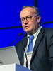 Hermann Einsele, MD speaks during the High Risk Disease session