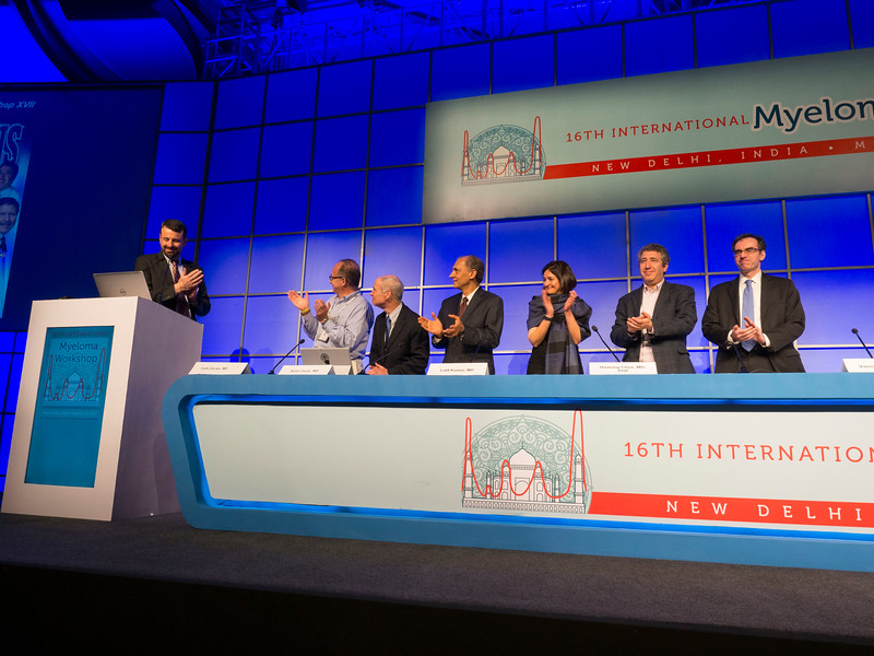 Speakers during the Closing ceremony