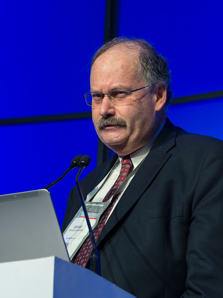 Edward Stadtmauer, MD speaks during the Selected Oral Abstracts session