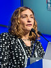 Elena Zamagni, MD speaks during the High Risk Disease session