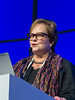 """Donna Reece, MD, speaks during the opening session """"Non-transplant approaches"""""""