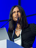 """Amrita Krishnan, MD, speaks during the opening session """"Role of Transplantation/Consolidation and maintenance in MM"""""""