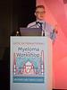 Thomas Osborne, MD, speaks during the opening session of the 3rd International Nursing Program