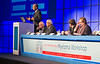 """Nikhil Munshi, MD, speaks during the opening session """"Non-transplant approaches"""""""