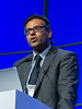 "Jatin Shah, MD speaks during the session ""Landscape of Current International Trials"""