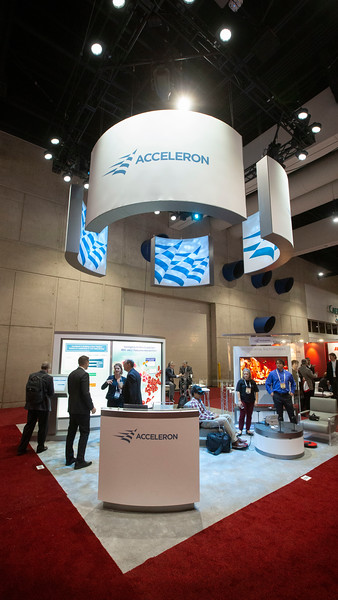 Acceleron during Exhibit Booth