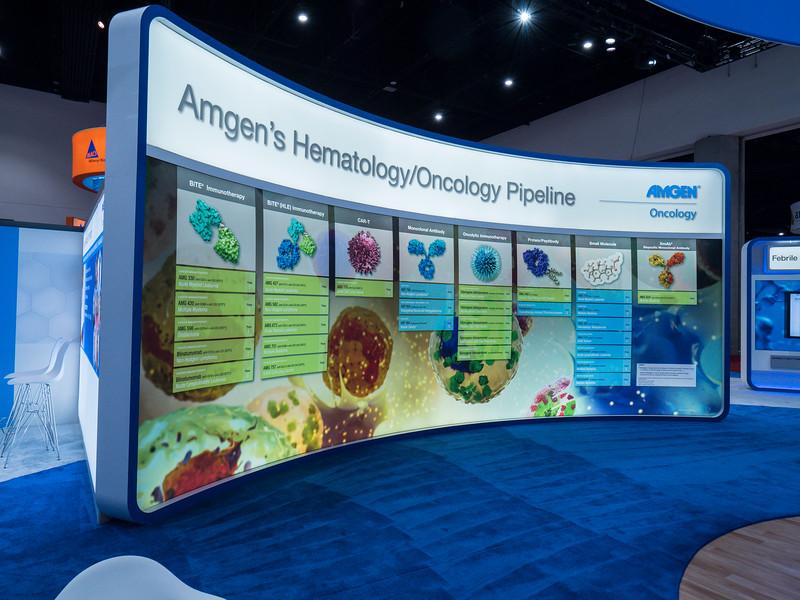 Amgen during Exhibits