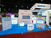 Sandoz during Exhibit Booth