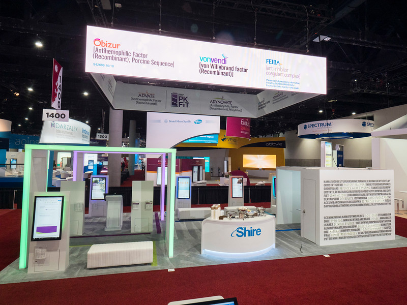 Shire during Exhibit Booth