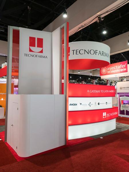 Tecnofarma during Exhibit Booth