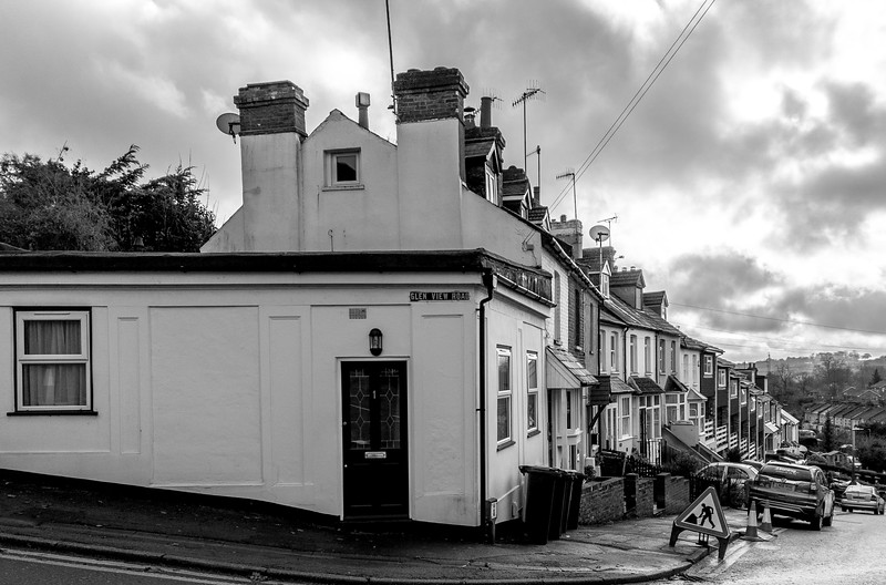 site of Glen View Road Corner Shop, Hemel Hempstead