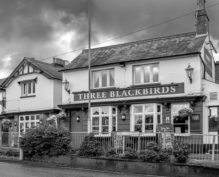 The Three Blackbirds, Saint John's Road, Hemel Hempstead