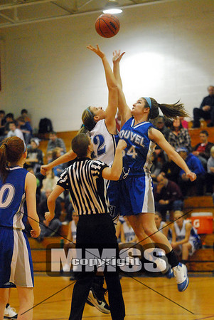 Hemlock vs. Nouvel (Girls basketball)