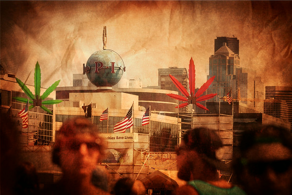 <b>Interpretive Art for Hempfest  Image by Eric Korn</b>