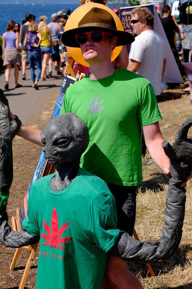 Hempfest Sunday August 16, 2015 Images