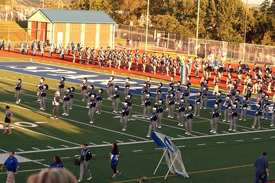 9-11-2015 Hempfield Band - Norwin Football Game